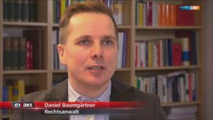 Daniel Baumgärtner im MDR